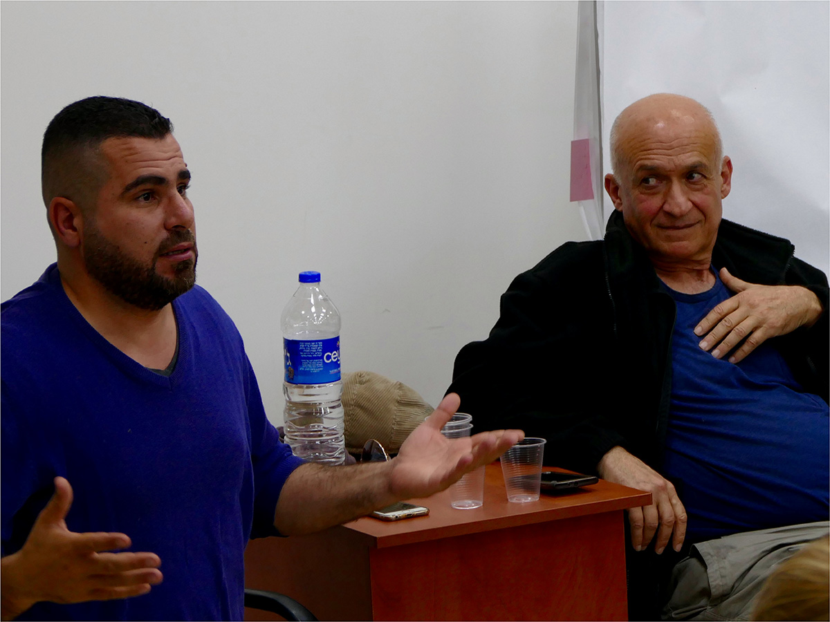 Combatants for Peace, a former Palestinian combatant together with a former Israeli soldier
